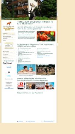 Vorschau der mobilen Webseite www.zum-goldenen-hirsch.de, Hotel Zum Goldenen Hirsch - Gerd Eichelmann Hotel-Management e.K.
