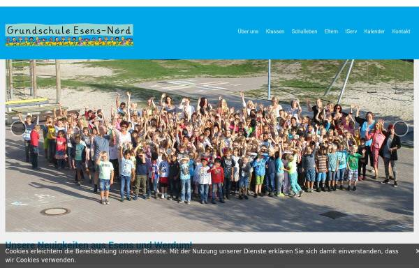 Vorschau von www.grundschule-esens-nord.de, Grundschule Esens-Nord