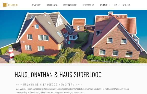 Vorschau von www.kremer-langeoog.de, Haus Jonathan