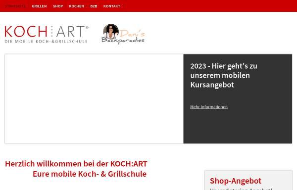 Vorschau von www.kochart-hannover.de, KOCH:ART - Die Koch- und Grillschule GmbH