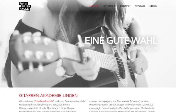 Vorschau von www.gitarren-akademie-linden.de, Gitarren Akademie Linden