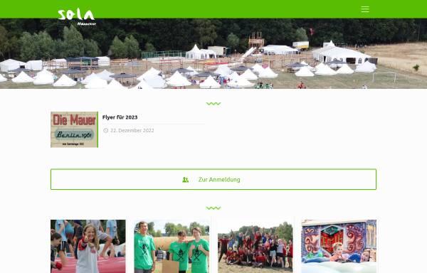 Vorschau von www.sola-hannover.de, Sola Hannover