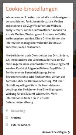 Vorschau der mobilen Webseite www.heilig-geist-hannover.de, Katholische Pfarrgemeinde Heilig Geist Hannover