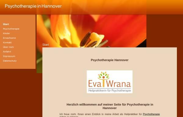 Vorschau von www.psychotherapie-hannover-wrana.de, Eva Wrana