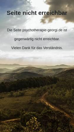 Vorschau der mobilen Webseite www.psychotherapie-georgi.de, Karsten Georgi