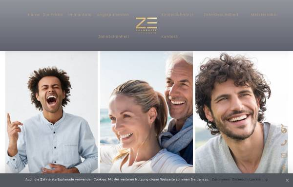 Vorschau von www.zahnarzthannover.eu, Zahnarztpraxis Jens Peuker