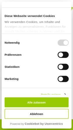Vorschau der mobilen Webseite www.decisio.de, Decisio Unternehmensberatung GmbH