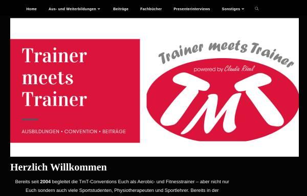 Vorschau von www.trainer-meets-trainer.de, Trainer Meets Trainer
