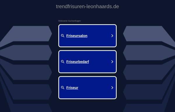 Vorschau von www.leonhaards-trendfrisuren.de, LeonHAARd's Trendfrisuren - Inh. Sabine Leonhard