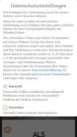 Vorschau der mobilen Webseite www.geruweb.de, Geruweb, Gerald Rusche