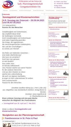 Vorschau der mobilen Webseite www.gvoh.de, Gemeindeverbund-Oesede-Harderberg