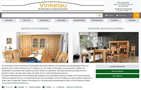 Vorschau von www.vinkelau.de, Gebrüder Vinkelau GmbH