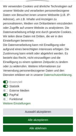 Vorschau der mobilen Webseite www.vinkelau.de, Gebrüder Vinkelau GmbH