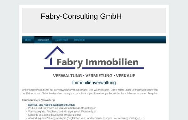Vorschau von fabry-immobilien.de, Fabry-Consulting GmbH