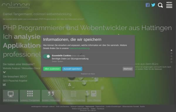 Vorschau von colimori-webentwicklung.de, Colimori Webentwicklung