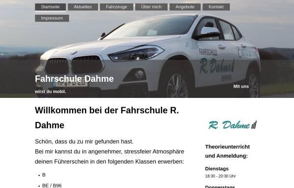 Vorschau von www.fahrschule-herford.com, Fahrschule Dahme