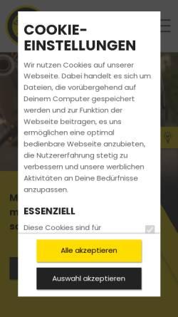 Vorschau der mobilen Webseite www.motorradfahrschule.com, Fahrschule Michael Preiß