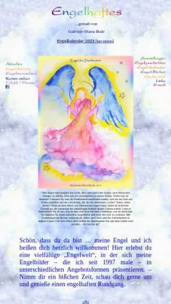 Vorschau der mobilen Webseite www.engelhaftes.de, Engelhaftes
