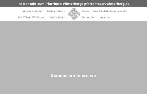 Vorschau von pvwinterberg.de, Kath. Pfarrei St. Jakobus der Ältere Winterberg