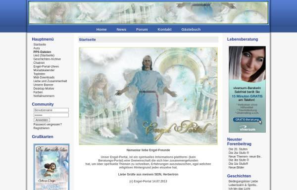 Vorschau von www.engel-portal.de, Engel-Portal