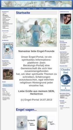 Vorschau der mobilen Webseite www.engel-portal.de, Engel-Portal