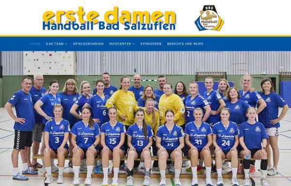 Vorschau von www.hbs-damen.de, Handball Bad Salzuflen