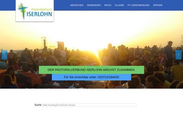 Vorschau von www.pviserlohn.de, Pastoralverbund Iserlohn