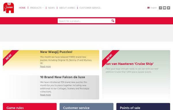 Vorschau von www.jumbo.eu, JUMBO Spiele GmbH