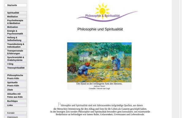 Vorschau von www.psp-tao.de, Andreas Tenzer - Philosophische und Spirituelle Praxis
