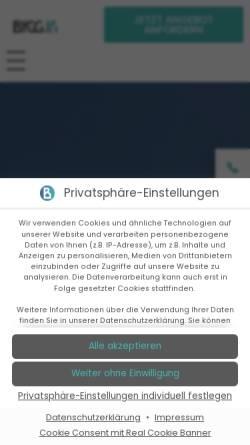 Vorschau der mobilen Webseite www.gebaeudediagnostik-info.de, Gebäudediagnostik Udo Kaiser