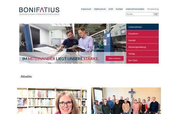 Vorschau von www.bonifatius.de, Bonifatius GmbH