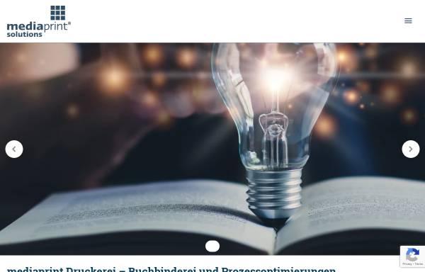 Vorschau von mediaprint.de, Media-Print Informationstechnologie GmbH