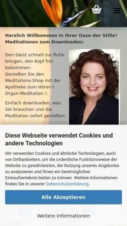 Vorschau der mobilen Webseite www.lydia-wentzel.de, Der Dialog - Lydia Wentzel