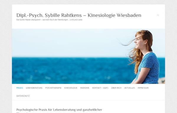 Vorschau von www.psycho-beratung-astro.de, Dipl. Psych. Sybille Rahtkens