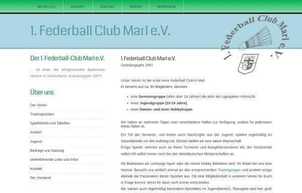 Vorschau von www.fbc-marl.de, 1. Federballclub Marl e.V. 1957
