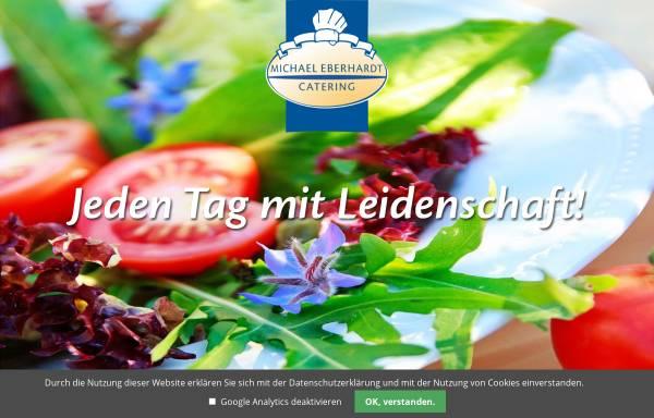 Vorschau von www.catering-eberhardt.de, Catering & Partyservice Michael Eberhardt Catering GmbH