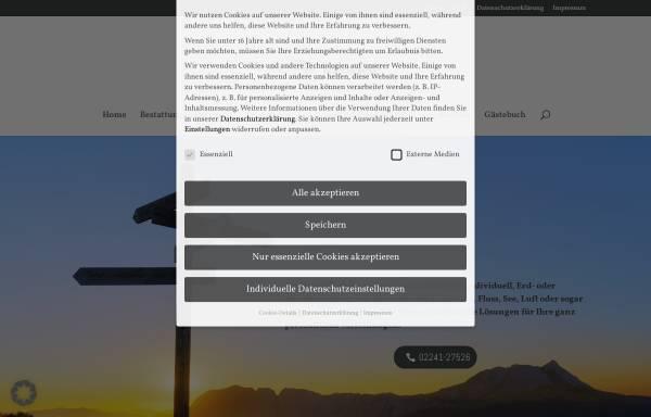 Vorschau von www.bestattungen-kroeger.de, Bestattungen Kröger