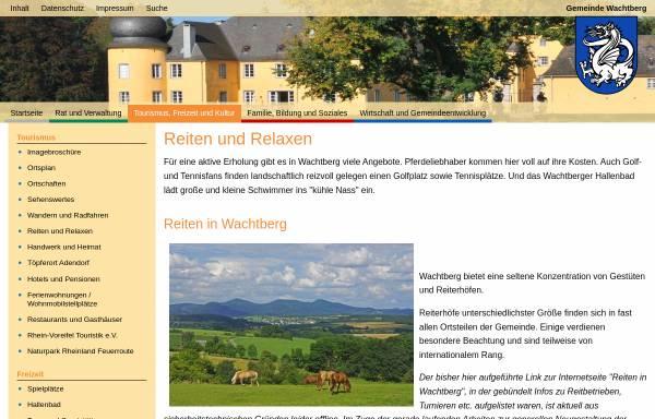 Vorschau von www.reiten-in-wachtberg.de, Reiten in Wachtberg