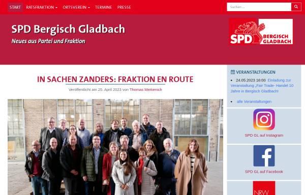 Vorschau von www.spd-gl.de, SPD Bergisch Gladbach