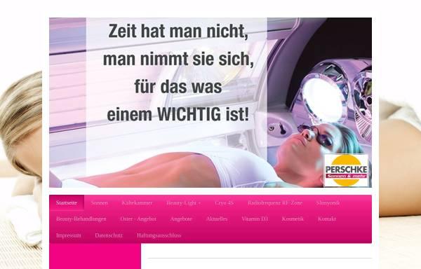 Vorschau von www.sonnenstudio-perschke.de, Sonnenstudio Perschke