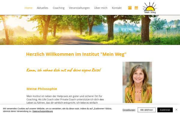 Vorschau von www.mein-weg.com, Institut Mein Weg