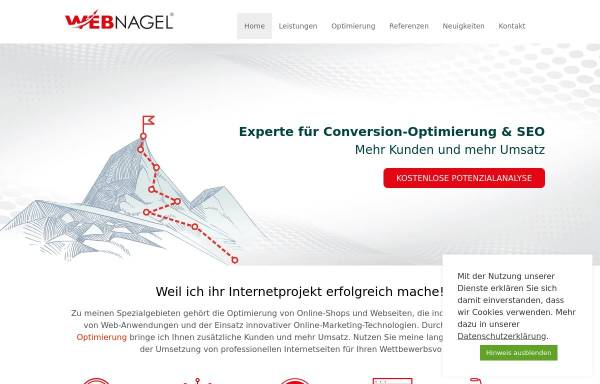 Vorschau von www.webnagel.de, Webdesign Webnagel, Daniel Nagel