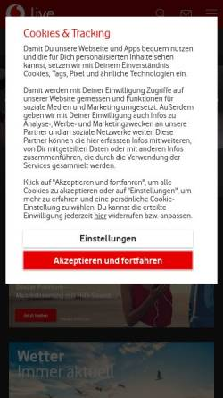 Vorschau der mobilen Webseite www.isis.de, Larimar Lebensberatung