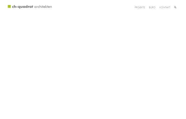 Vorschau von www.ch-quadrat.de, Ch-Quadrat Architekten