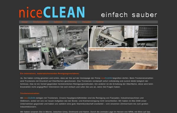 Vorschau von www.niceclean.de, NiceCLEAN