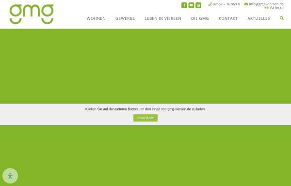 Vorschau von www.gmg-viersen.de, Grundstücks-Marketing-Gesellschaft der Stadt Viersen mbH