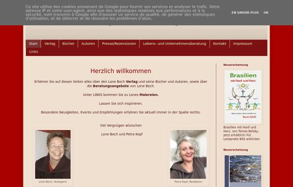 Vorschau von www.lonebech.blogspot.com, Lone Bech