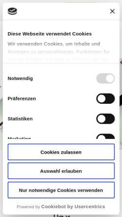 Vorschau der mobilen Webseite www.web-media-kowalke.de, Web Media Kowalke, Andreas Kowalke