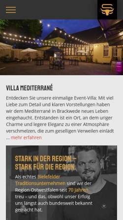 Vorschau der mobilen Webseite www.stollberg-catering.de, Stollberg Ochsenbraterei & Catering
