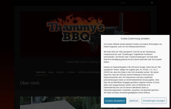 Vorschau von thammys-bbq.de, Thammy's BBQ